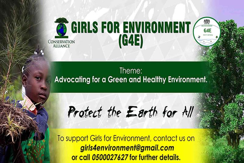 """Girls for Environment """"G4E"""""""