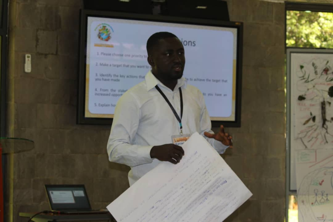 GEF/FAO end of project knowledge sharing workshop in Accra.