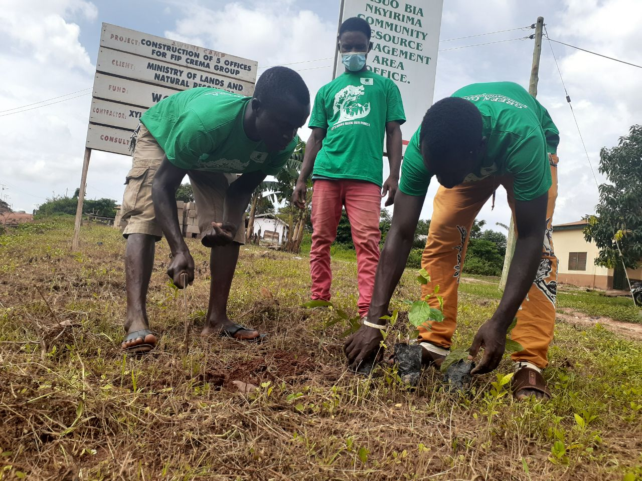 CA Joins in the GREEN GHANA Tree Planting Exercise